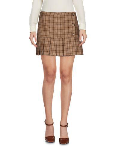 Michael Kors Mini Skirts In Brown