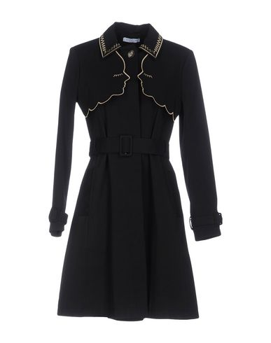 Vivetta Overcoats In Black