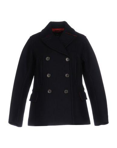 Marc By Marc Jacobs Coats In Dark Blue