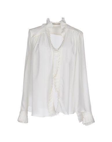 Ermanno Scervino Silk Shirts & Blouses In White