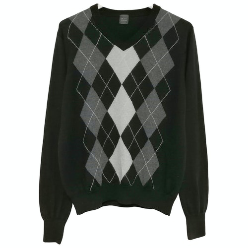 Pre-owned Saks Fifth Avenue Black Wool Knitwear & Sweatshirts