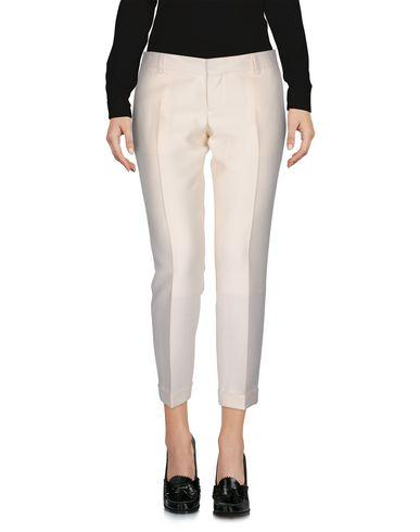 Dsquared2 Cropped Pants & Culottes In Ivory