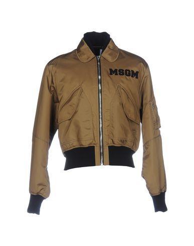 Msgm Bomber In Black