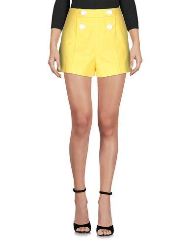 Boutique Moschino Shorts & Bermuda In Yellow