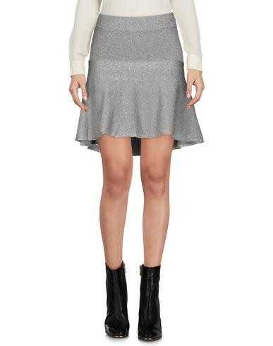 Pinko Mini Skirt In Silver