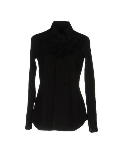 Dsquared2 Solid Color Shirts & Blouses In Black