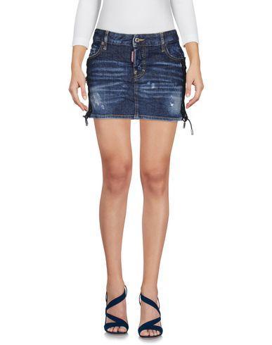 Dsquared2 Denim Skirt In Blue