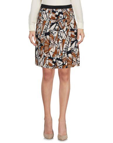 Marc By Marc Jacobs Knee Length Skirts In Brown