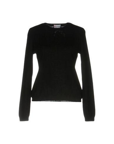Red Valentino Cashmere Blend In Black