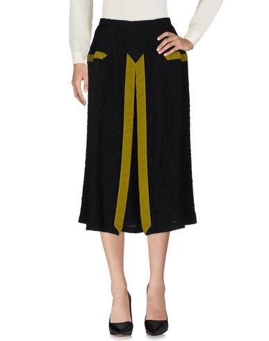 Marco De Vincenzo 3/4 Length Skirts In Black