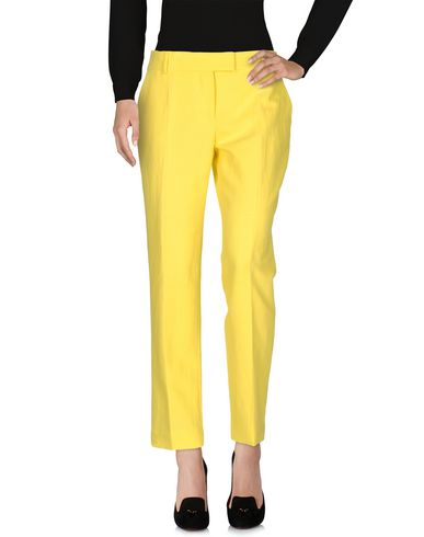 M Missoni Casual Pants In Yellow