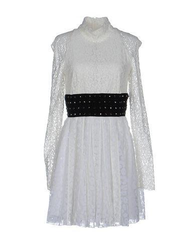 Giamba Short Dresses In Ivory