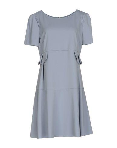 Emporio Armani Short Dresses In Sky Blue