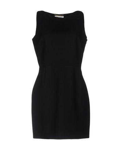Saint Laurent Short Dress In Black