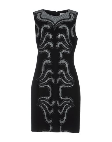 Diane Von Furstenberg Short Dress In Black