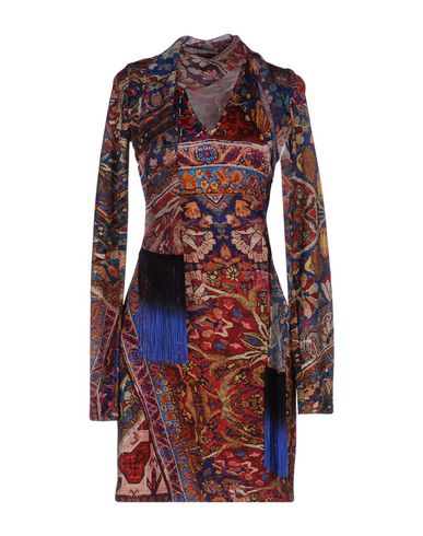 Just Cavalli Short Dress In Brown