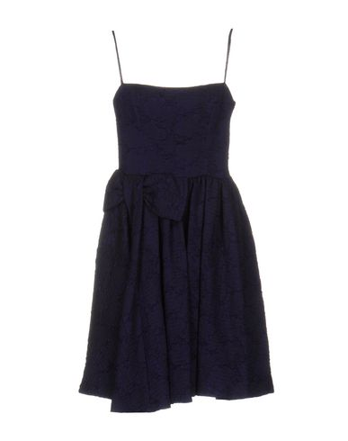 Red Valentino Knee-length Dresses In Dark Purple
