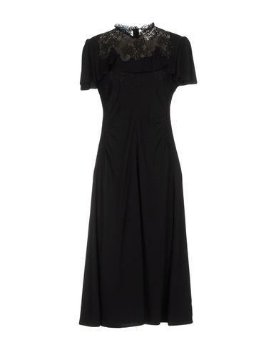 Prada Knee-length Dresses In Black
