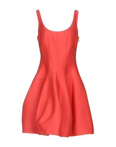 Halston Heritage Short Dresses In Coral