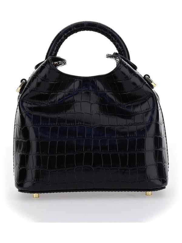 Elleme Madeleine Embossed Tote Bag In Black