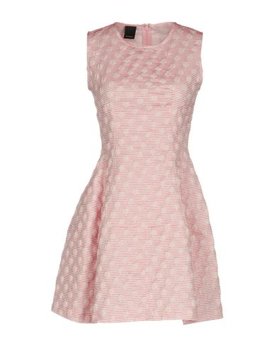 Pinko Short Dresses In Pink