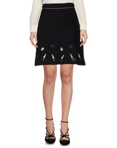 Markus Lupfer Knee Length Skirt In Black