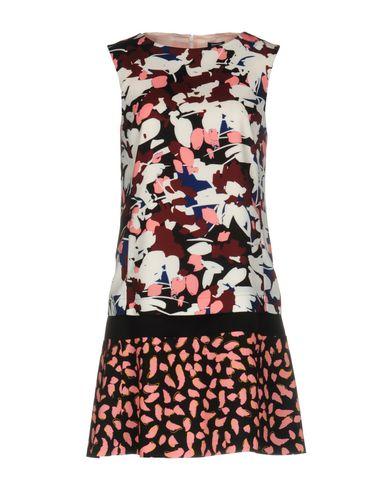 Jil Sander Short Dress In Cocoa