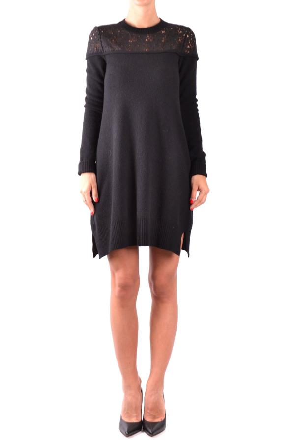 Philosophy Women's Black Wool Dress