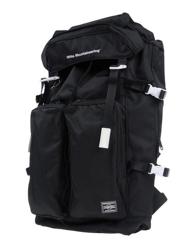 White Mountaineering Backpacks & Fanny Packs In Black