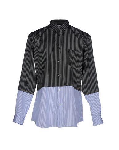 Comme Des GarÇons Shirt Striped Shirt In Green