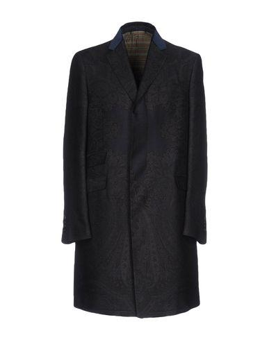 Etro Coat In Steel Grey