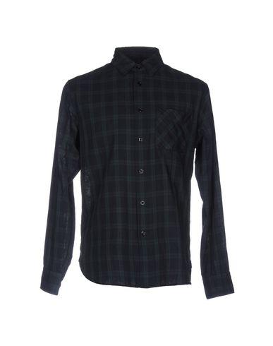 Rag & Bone Checked Shirt In Dark Blue