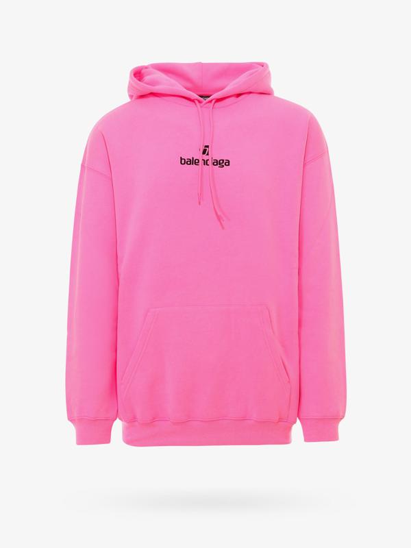 Balenciaga Sweatshirt In Pink