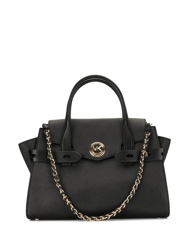 Michael Kors Carmen Tote Bag In Black