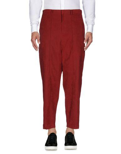 D.gnak By Kang.d Casual Pants In Maroon