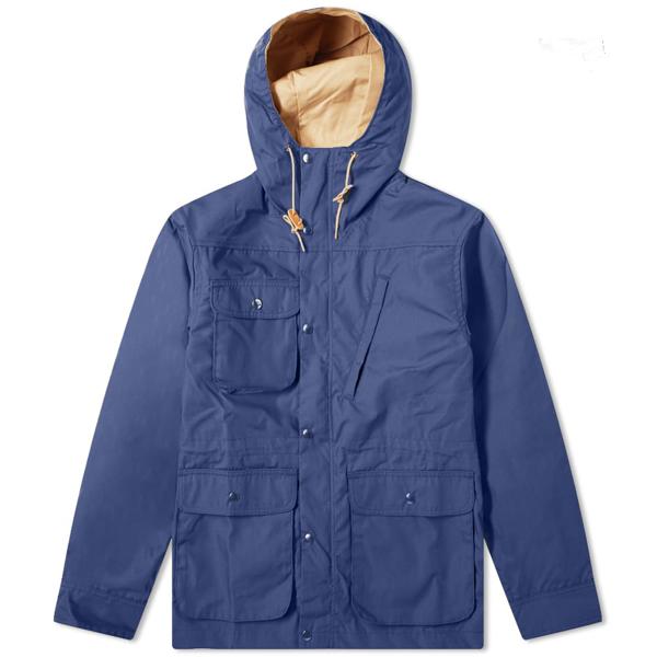 Battenwear Travel Shell Parka In Blue