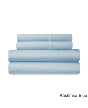 Addy Home Fashions Luxury 1000 Thread Count Cotton Rich Sateen 4-piece Sheet Set Bedding In Blue