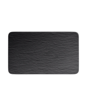 Villeroy & Boch Manufacture Rock Sushi Plate In Black