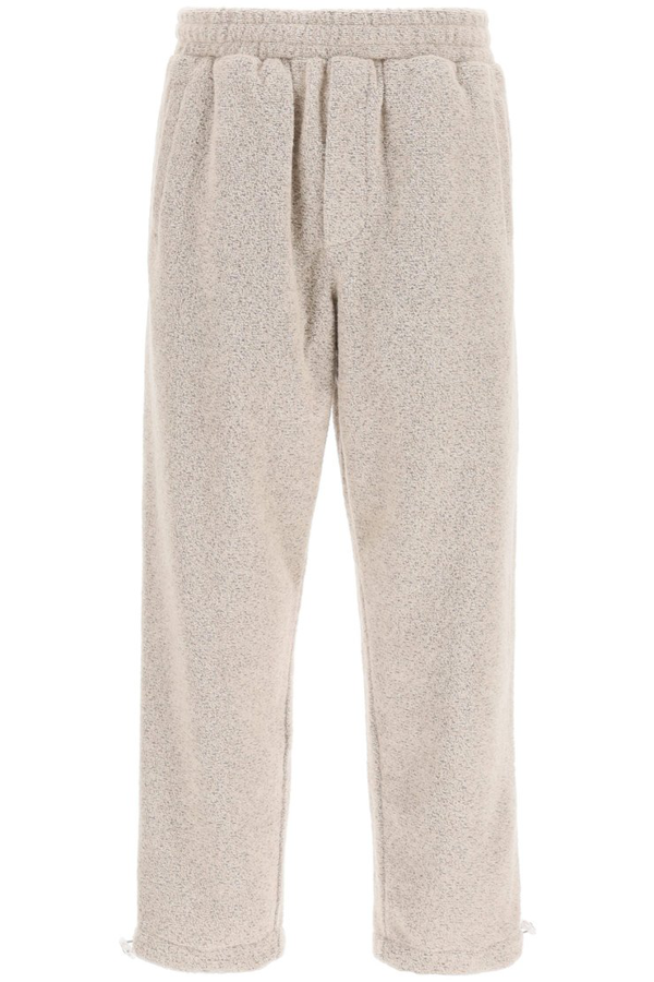 The Silted Company Argo Boucle' Jogger Pants In Dust