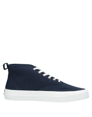 Maison Kitsuné Sneakers In Dark Blue