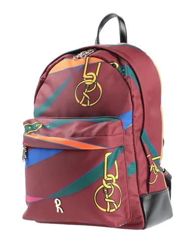 Roberta Di Camerino Backpack & Fanny Pack In Red