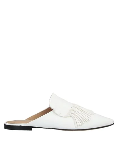 Pomme D'or Mules And Clogs In White
