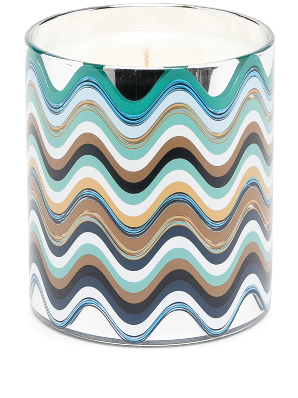 Missoni Mediterraneo Scented Candle In Silver