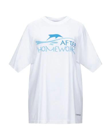 Afterhomework T-shirts In White