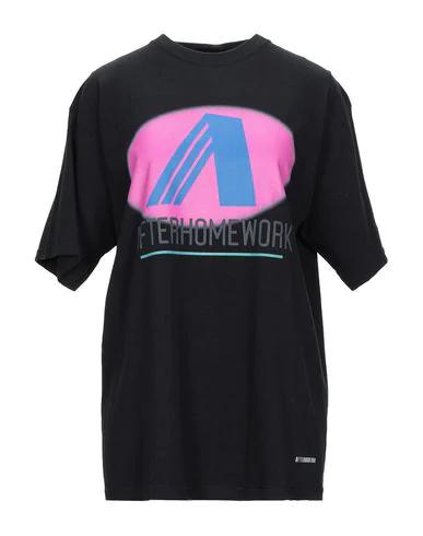 Afterhomework T-shirts In Black