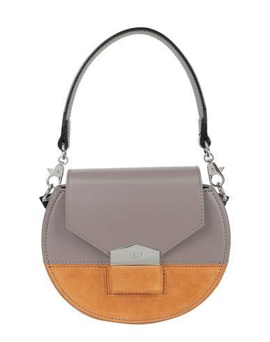 Salar Mimi Multi Crossbody Bag In Dove Grey