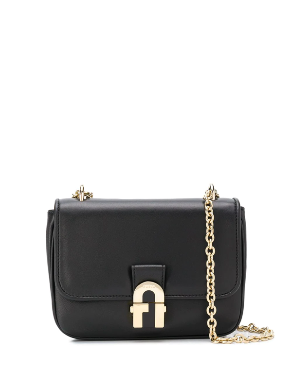 Furla 1927 Crossbody Bag In Black