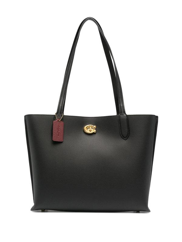 Coach Willow Tote Carryall Handbag Colour: Black