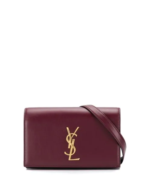 Saint Laurent Kate Belt Bag In Red