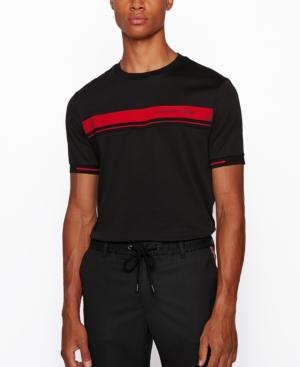 Hugo Boss Boss Men's Tiburt 180 Regular-fit T-shirt In Black